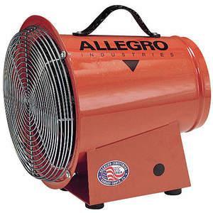 ALLEGRO 9513コンパクトアキシャルブロワー、電気、1/3 hp、3A、スチール| AE9UPB 6MKN5