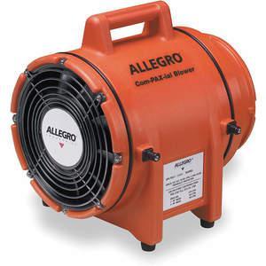 ALLEGRO 9536アキシャルDCプラスチックブロワー、ポリエチレン、4200 rpm | AB3MRH 1UFG7