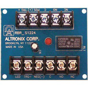 ALTRONIX RBR1224 Relè a cricchetto 12 / 24vdc 20ma Dpdt   AE2AEB 4WAT4