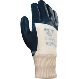 ANSELL 27-600 Coated Gloves 9/L White/Green PR | AA8ZLL 1AZ73