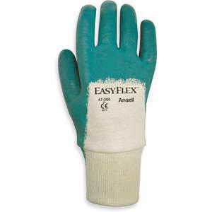 ANSELL 47-200 Coated Gloves 8/M White/Green PR | AD8DVA 4JF64