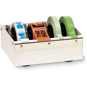 APPROVED VENDOR 3TZR8 Label Dispenser Acrylic White   AD2TGL