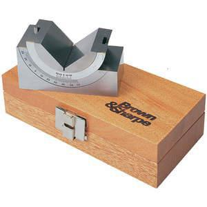BROWN & SHARPE 599-750-25 Hoekblok L 3.75 W 1.75 H 2 Inch | AC7MCZ 38N972