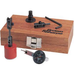 BROWN & SHARPE 599-7755-1 Set magnetische voet en indicator, 6.25 lengte, 3.75 breedte | AC7MCA 38N905