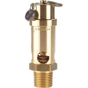 CONRADER SRV530-1 / 2-050 Veiligheidsklep Zachte Zitting 1/2 Inch 50 Psi | AA7GKZ 15X910