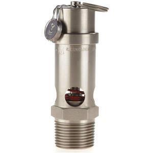 CONRADER SRV530-3 / 4-V-SS-250 Veiligheidsklep Zachte Zitting 3 / 4in 250 Psi Roestvrij Staal | AA7GKK 15X896