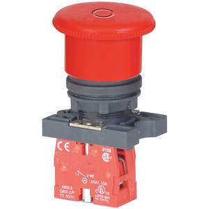 Emergency Stop Push Buttons with Contact Block