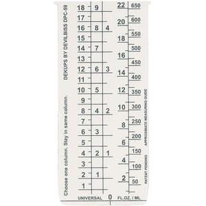 DEVILBISS DPC-59-K10 Disposable Measuring Guide Inserts - Pack Of 10   AE2MCR 4YEJ2