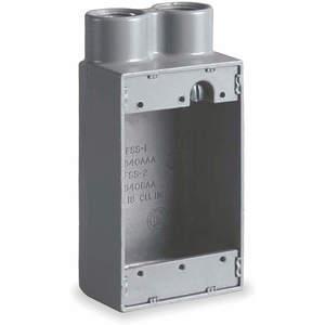KILLARK FSS-2M Box Cast Device 1 Gang | AC2VCJ 2NA28