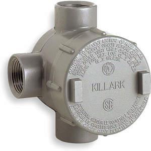KILLARK GESTT-3 Leidinguitlaatbehuizing Aluminium T | AH2PML 2LLU6