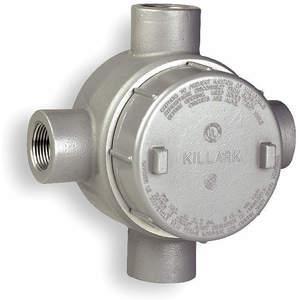 KILLARK GESXT-4 Buisuitlaatbehuizing Aluminium X | AH2PMQ 2LLV1