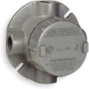 KILLARK GECXTF-2 Leidinguitlaatbehuizing Aluminium XTF | AH2PLP 2LLR4