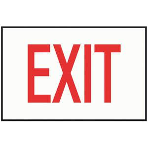 KILLARK NWP-DECAL01 Exit Sign Decal Nwp Series Red Exit   AE9FJY 6JEN3