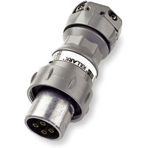 KILLARK VP6475 Pin Sleeve Plug 60A 4P 4W 600VAC / 250VDC | AH2PXA 2NVR1