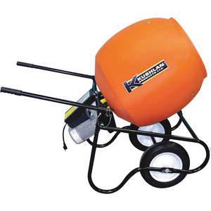KUSHLAN PRODUCTS 600DD Wheelbarrow Cement Mixer, 6 Cubic Feet,115V, 3/4 Hp | AF7NNA 22DA21