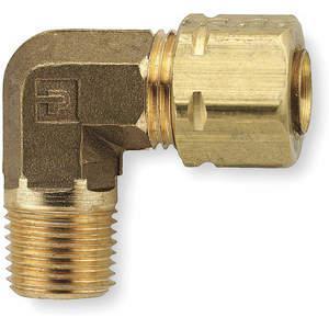 PARKER 169CA-3-2 Winkel 90 Messingkompression x M 3/16 Zoll x 1/8 Zoll - Packung mit 10 Stück | AE9QDA 6LG01