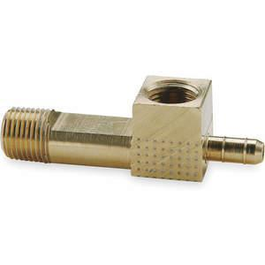 PARKER 228-4-2 Gauge Tee 0.17 Zoll Rohrgröße Messing | AB9ZAN 2GUH5