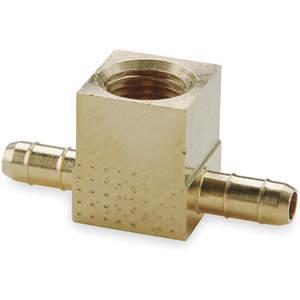 PARKER 237-5 / 32-2 weibliches T-Stück 0.096 Zoll Rohrgröße Messing   AB9ZBT 2GUL5