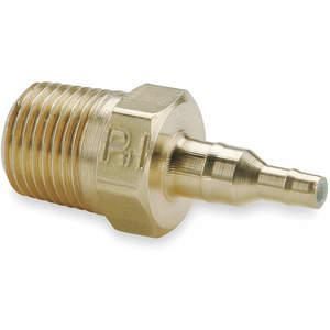 PARKER 28-4-5 / 32-2 Barb To Pipe Adapt 0.170 / 0.096 Zoll Messing | AB9ZCF 2GUP8