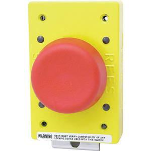 REES 02182-002 Pulsante di arresto di emergenza, rosso, con chiusura a molla | AH6YGW 36LR77