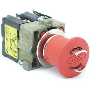 REES 22102-122 Pulsante di arresto di emergenza, bloccabile, rosso | AH6YHF 36LR92