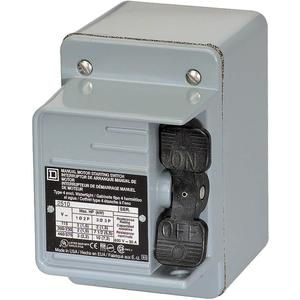 SQUARE D 2510KW1 Manual Motor Switch IEC 30A 600V | AG9GCX 1H408