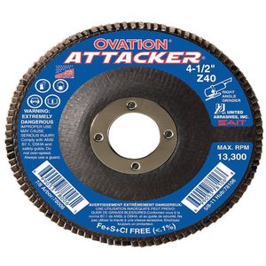 UNITED ABRASIVES-SAIT 76208 Arbor Mount Flap Disc 4-1/2 Inch 60 Coarse | AE4MJD 5LTX1