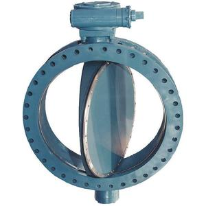 VAL-MATIC 2004/1A02 Butterfly Valve Flanged 4 Inch Actuated Ci   AE4NKE 5LYF9