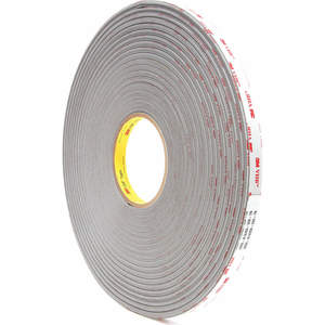 3M 4956 Ruban 1/2 po x 108 pieds gris - paquet de 18 | AB9HRM 2DEG4