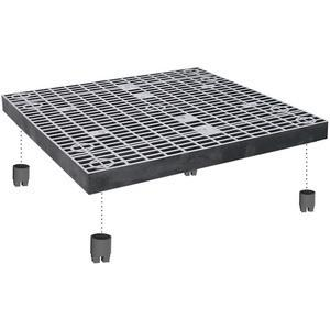 ADD-A-LEVEL A3636 Work Platform Panel, 36 x 36, Black | AG8ENQ