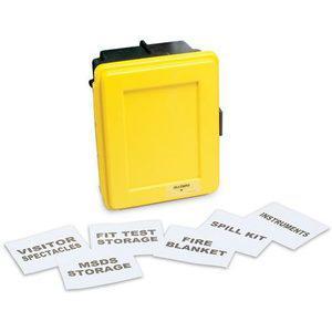 ALLEGRO 4500-10汎用ウォールケース用ラベルキット(17ラベル)| AG8EZJ