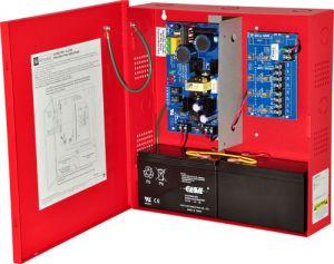 ALTRONIX AL300PD4R220 Caricatore alimentatore, 4 uscite con fusibile, 12 / 24VDC a 2.5A, 220VAC | CE6EMD
