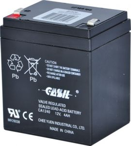 Batteria ricaricabile ALTRONIX BT124, al piombo sigillato, 12VDC, 4AH | CE6EUZ