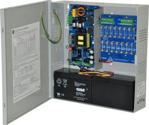 Alimentatore ALTRONIX eFlow104N16, 16 uscite con fusibile, 24 V CC a 10 A, uscita Aux, 115 V CA   CE6EXV