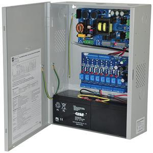 ALTRONIX eFlow102NA8DV Controller di alimentazione di accesso, 8 uscite relè PTC Classe 2, 12 V CC, 10 A, 220 V CA | CE6EXC