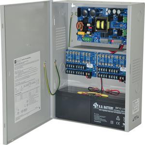 Alimentatore ALTRONIX eFlow104NX16, 16 uscite con fusibile, 24 V CC a 10 A, uscita Aux, 115 V CA | CE6EYN