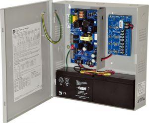 Alimentatore ALTRONIX eFlow3N4V, 4 uscite con fusibile, 12 / 24VDC a 2A, uscita Aux, 220VAC | CE6EZC