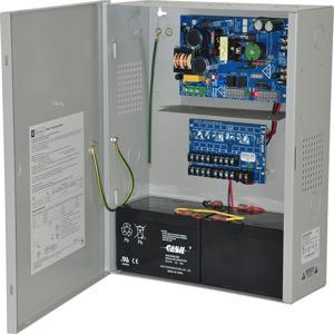 ALTRONIX eFlow4NX8D Alimentatore / caricatore, 8 PTC, 12 / 24VDC a 4A, 115VAC   CE6FZJ