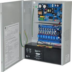 ALTRONIX eFlow6NA8V Access Power Controller, 8 uscite relè con fusibile, 12 / 24VDC, 220VAC   CE6FRN