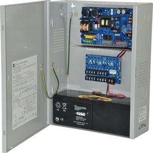 ALTRONIX eFlow6NX8DV Alimentatore / caricatore, 8 PTC, 12 / 24VDC a 6A, 220VAC | CE6FZP