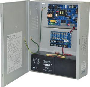 ALTRONIX eFlow6NX8 Alimentatore / caricatore, 8 uscite con fusibile, 12 / 24VDC a 6A, 115VAC | CE6FZD