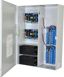 ALTRONIX Maximal77FV Access Power Controller, 16 fusibili, doppio P / S da 24 V CC a 9.7 A ciascuno, 220 V CA | CE6FPL
