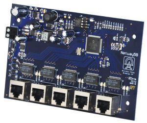 Scheda switch ALTRONIX NetWay5B, temprata, 5 porte   CE6GCN