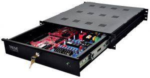 ALTRONIX Trove1M1R Access Power Integration Enclosure, montaggio su rack, dimensioni 26.5 x 19 x 3.25 pollici   CE6FJR