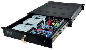 ALTRONIX Trove1V1R Access Power Integration Enclosure, montaggio su rack, dimensioni 26.5 x 19 x 3.25 pollici | CE6FJY