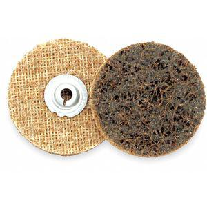 ARC ABRASIVES 59221 Non-Woven Quick Change Disc, TS/TSM Turn-On/Off Type 2, Coarse, Aluminum Oxide | CD3KAL 1GLY6
