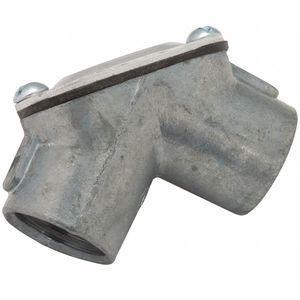 BELL 2652 UB-Style 1/2 Inch Pulling Elbow, Threaded Zinc, 3.0 cu. Inch  | CD2YRM 35U165