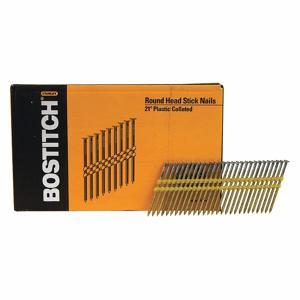 BOSTITCH RH-S10DR131HDG Framing Nails, 3 Inch L, Steel, Pk 4000   CD2WTZ 400F90