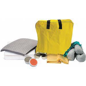 BRADY SPC ABSORBENTS SK-VEH Spill Kit/Station, Bag, Universal, 11.5 Gallon | CD3DDD 436N17