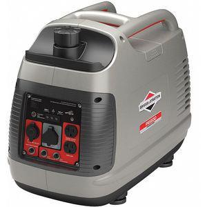 BRIGGS & STRATTON 30651 Recoil Gasoline Portable Inverter Generator, 1700 Rated Watts, 120 VAC   CD3URZ 45NL55